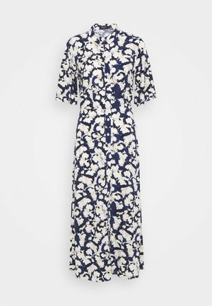 RAFINA DRESS - Shirt dress - water flower blue