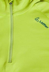 LÖFFLER - MIDLAYER EVO - Tekninen urheilupaita - light green - 2