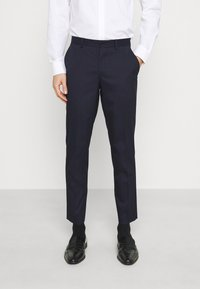 Selected Homme - SLHSLIM MYLOLOGAN CROP SUIT - Suit - navy blazer - 4