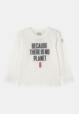 BECAUSALF UNISEX - Long sleeved top - off white