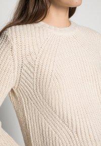 ONLY - ONLFIONA - Maglione - whitecap gray/white melange - 4