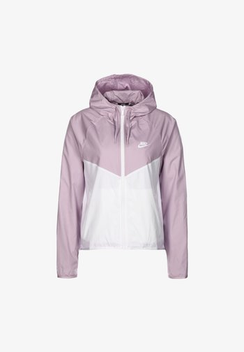 Outdoor jacket - iced lilac / white
