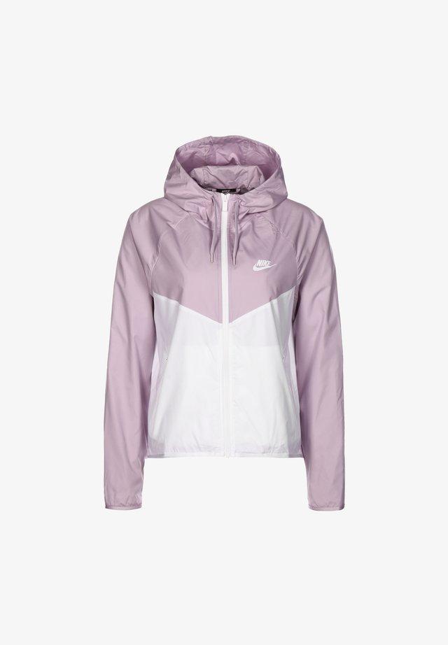 Blouson - iced lilac / white
