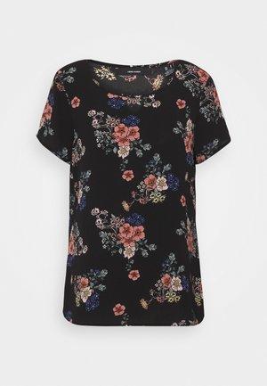 VMSAGA - Camiseta estampada - black