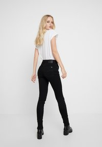 G-Star - 3301 HIGH SKINNY - Jeans Skinny Fit - pitch black - 2
