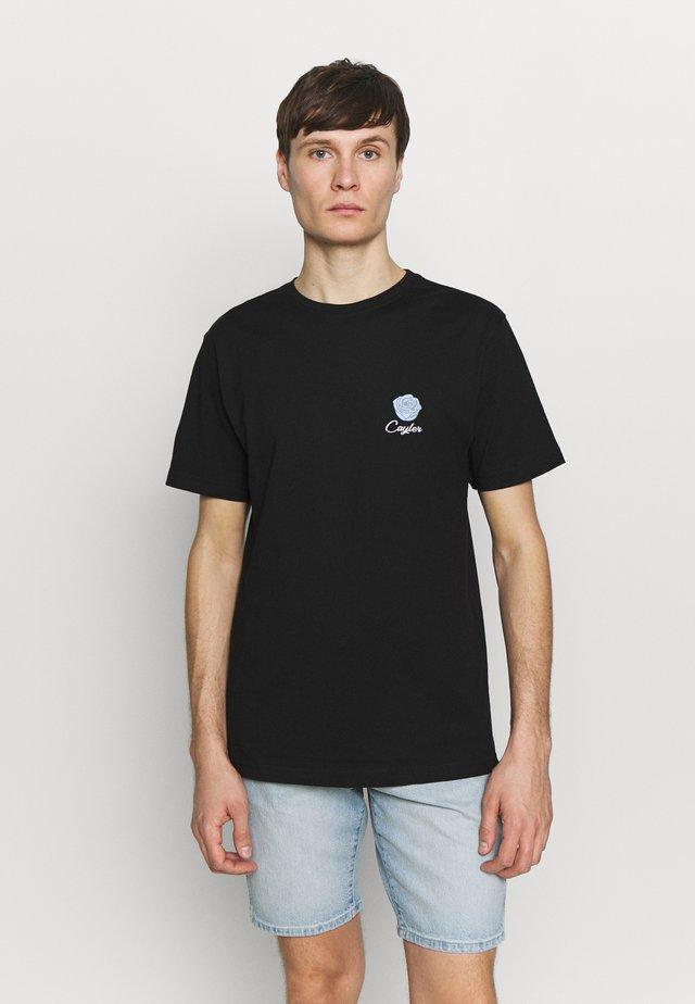 BOUQUET TEE - Camiseta estampada - black