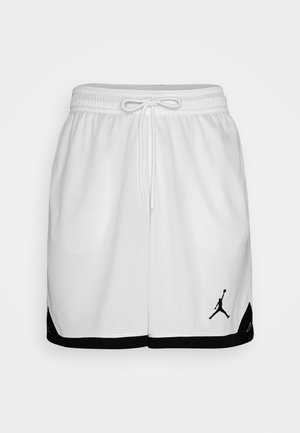 DRY AIR SHORT - Sports shorts - white/black