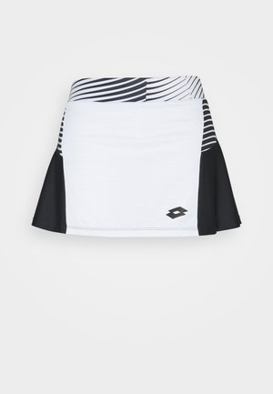 TOP TEN II SKIRT - Sports skirt - bright white/black