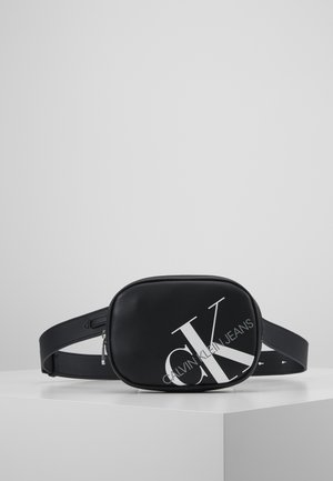 ROUNDED WAISTBAG - Saszetka nerka - black