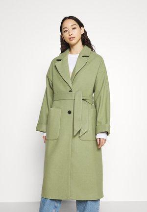 SANTO COAT - Cappotto classico - oil green