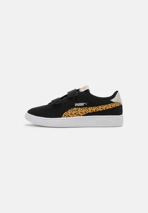 SMASH ROAR - Sneakers basse - black/mineral yellow