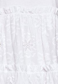 kate spade new york - MEDIA BRODRE DRESS - Denní šaty - fresh white - 5