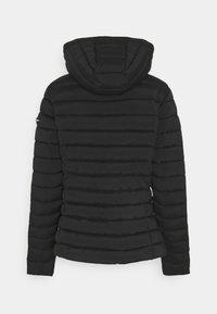 Frieda & Freddies - WOLLMANTEL VENEZIA LEICHT TAILLIERT - Light jacket - black - 1