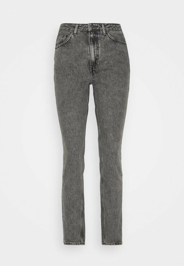 TIZANIE - Jeans a sigaretta - gris poivre et sel