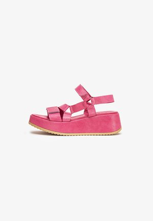 Keilsandalette - lollipop pink lpk