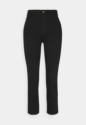 LE PIXIE SYLVIE - Straight leg jeans - film noir