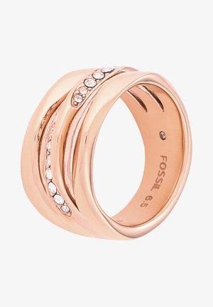 CLASSICS - Ring - rosegold-coloured