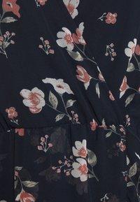 Vero Moda - VMZALLIE WRAP DRESS - Day dress - navy blazer/zallie - 5