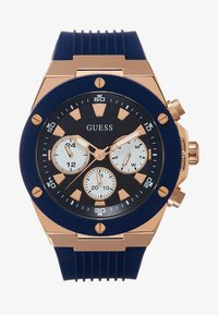 Guess - MENS SPORT MULTIFUNCTION - Watch - blue/rose gold-coloured - 0