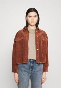 ONLY - ONLMARINA BITTEN LIFE - Summer jacket - rustic brown - 0