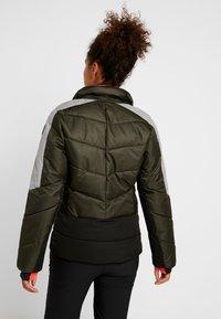 Icepeak - ELECTRA - Snowboard jacket - dark green - 4