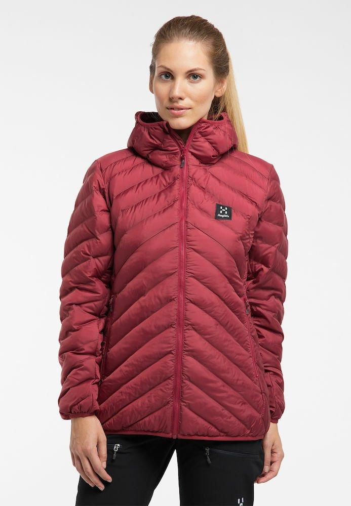 Haglöfs - SÄRNA MIMIC HOOD - Winter jacket - brick red