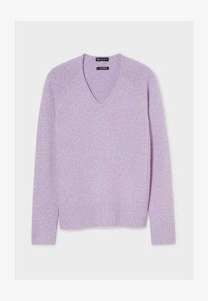 Sweter - light violet