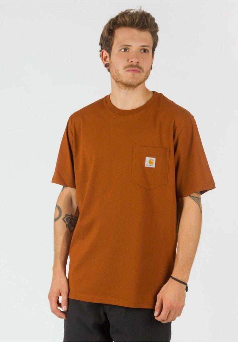 Carhartt WIP - Basic T-shirt - brandy