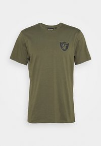 New Era - NFL DIGI CAMO OAKLAND RAIDERS TEE - Club wear - olive - 3
