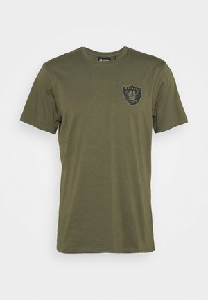 NFL DIGI CAMO OAKLAND RAIDERS TEE - Article de supporter - olive