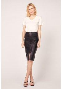 Kookai - Pencil skirt - noir - 0
