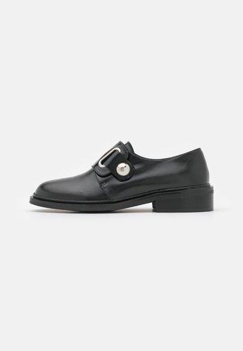 DEUMIN - Nazouvací boty - noir
