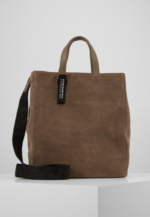 INPAPERBM - Shopping bag - light cement