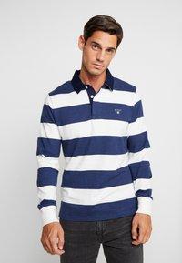 GANT - ORIGINAL BARSTRIPE HEAVY RUGGER - Polo shirt - eggshell - 0