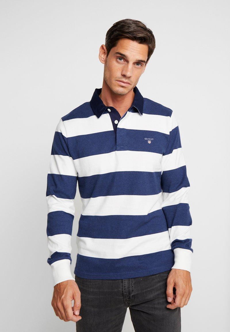 GANT - ORIGINAL BARSTRIPE HEAVY RUGGER - Polo shirt - eggshell