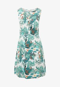 TOM TAILOR DENIM - Day dress - off white tropical - 4