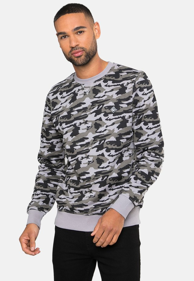 STANLEY - Sweater - charcoal camo