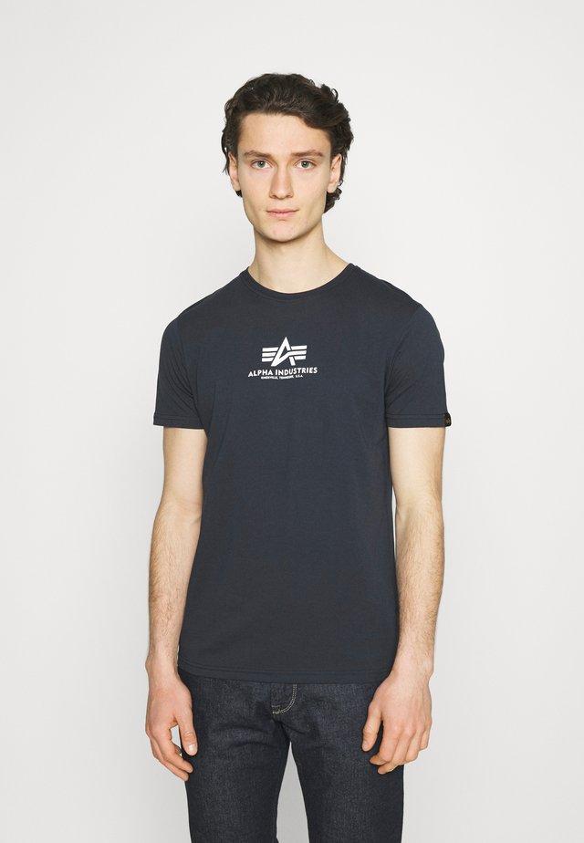 BASIC - T-shirt print - blue