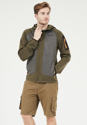 Fleece jacket - 3061 ivy green