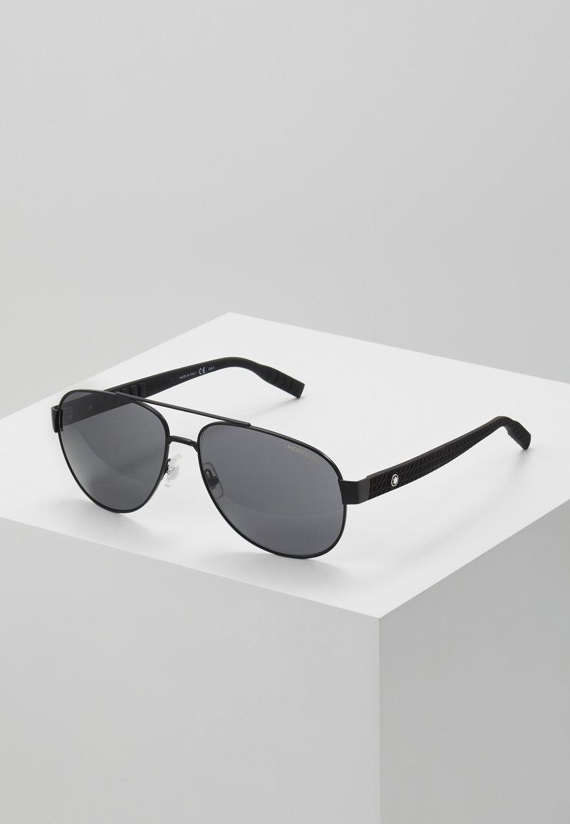 Mont Blanc - Sunglasses - black/grey