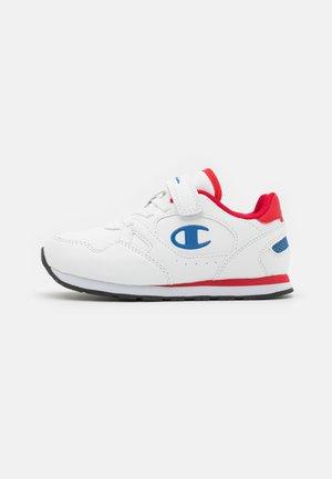 LOW CUT SHOE RR CHAMP UNISEX - Sports shoes - white/blue/red