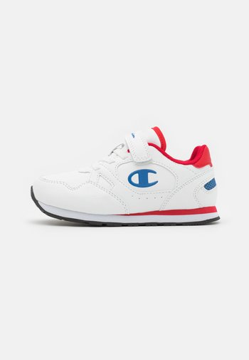 LOW CUT SHOE RR CHAMP UNISEX - Trainings-/Fitnessschuh - white/blue/red