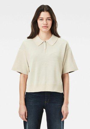 ZIP - Polo shirt - whitebait/carbid