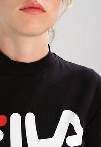 Fila - EVERY TURTLE TEE - T-shirt z nadrukiem - black - 3