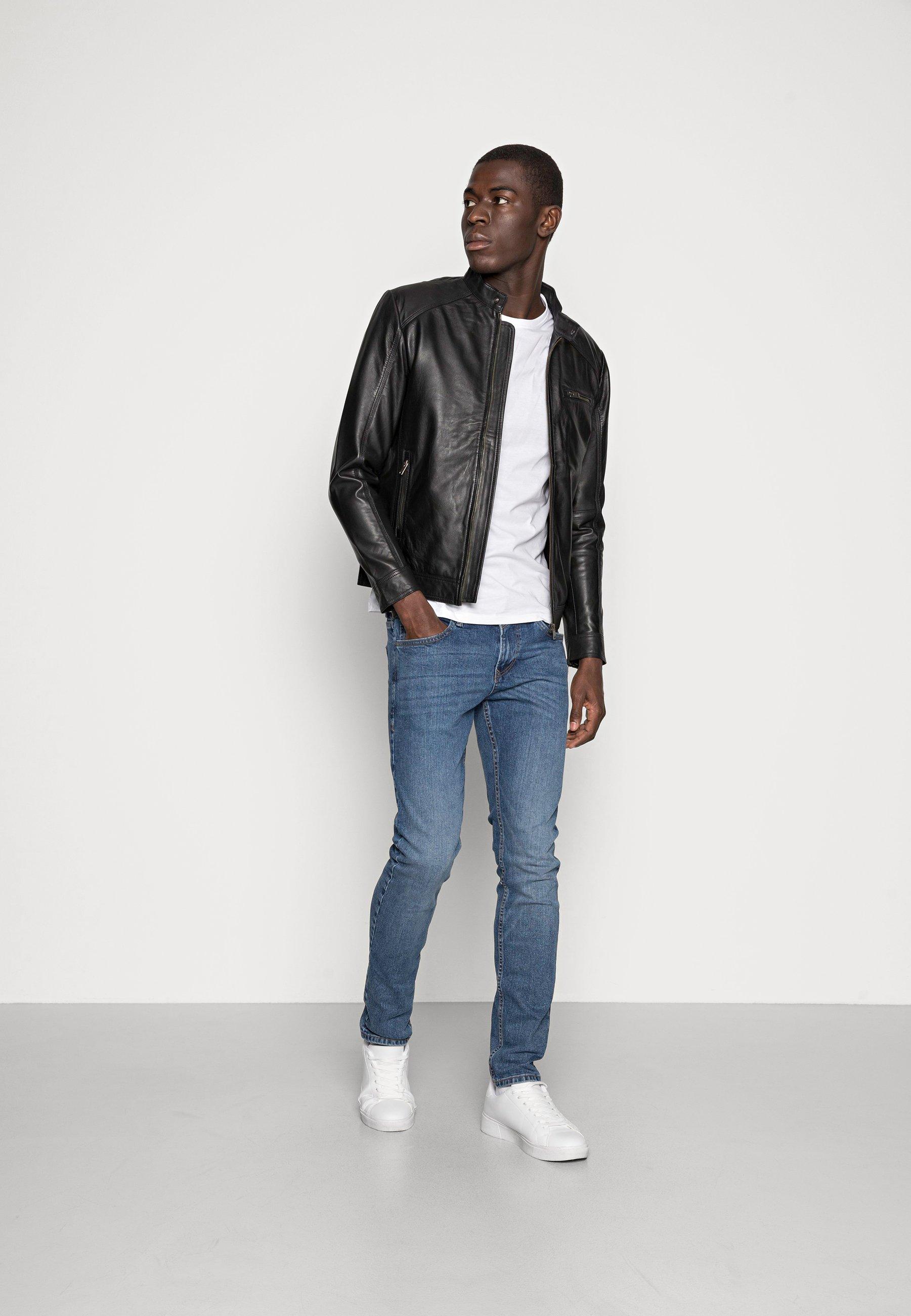 Men CLASSIC JACKET - Leather jacket