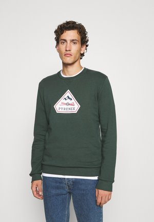 CHARLES 2 BRUSHED - Sweater - baltic green