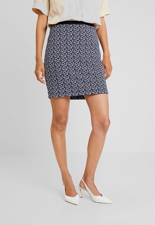 KURZ - Minifalda - blue