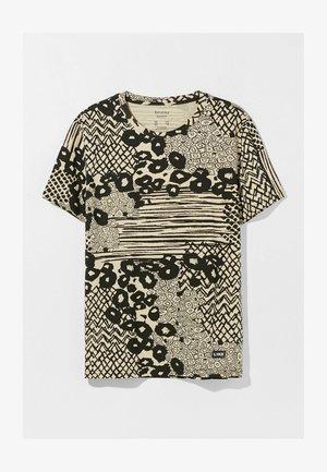 MIT - T-shirt con stampa - camel
