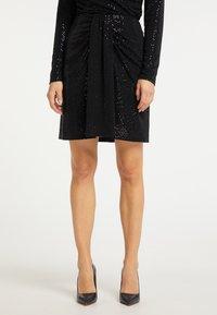 usha - A-line skirt - schwarz - 0