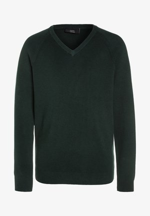 V-NECK  - Jumper - green